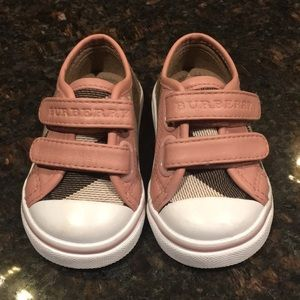 Burberry Infant Low Top Sneakers